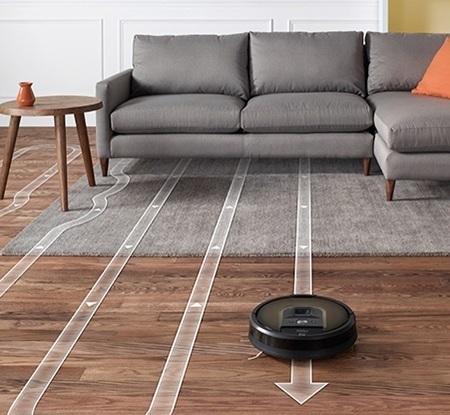 iRobot Roomba 980 saugt systematisch