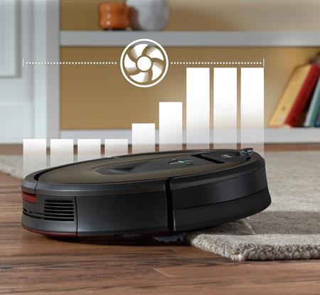 iRobot Roomba 980 erhöht die Saugkraft